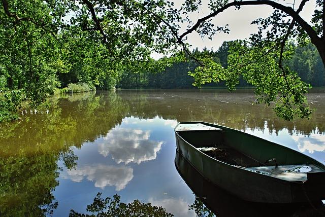 lodička na rybníku.jpg