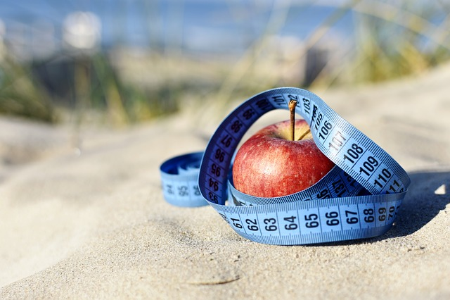 jablko omotané metrem