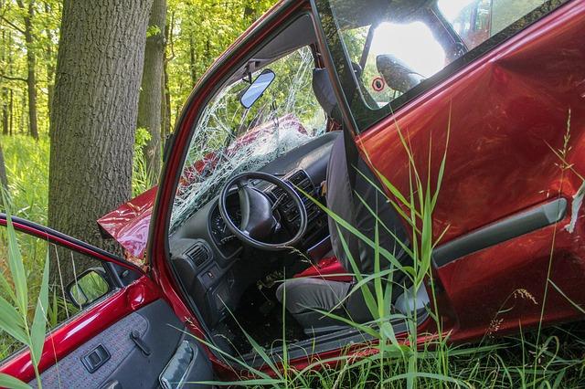 havárie auta