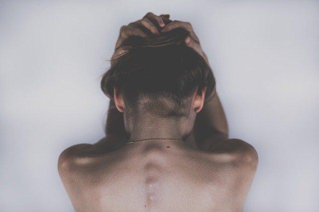 Žena v utrpení